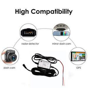 UNIVERSAL HARDWIRE FUSE BOX CAR RECORDER DASH CAM HARD WIRE KIT + MINI USB NEW