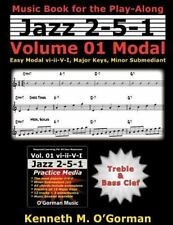 Modal : Easy Modal Vi-ii-v-i, Major Keys, Minor Submediant, Paperback by O'go...