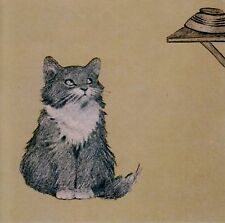 Kittens 11 Oliver Herford (1863-1935)  Blank Note Card
