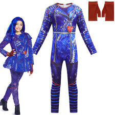 Descendants3 Evie Costume Kids Halloween Cosplay Jumpsuits+Gloves Fancy Outfits