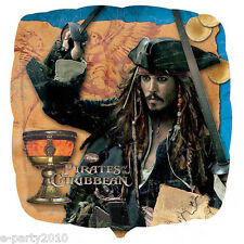 PIRATES OF THE CARIBBEAN Stranger Tides FOIL BALLOON ~ Birthday Party Supplies