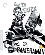 The Cameraman Criterion Collection (Buster Keaton Marceline Day) Reg B Blu-ray