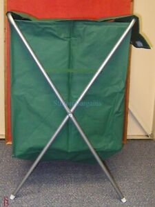 Folding Laundry Hamper / Bin with Stand - clothes basket toy store
