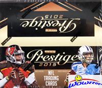2015 Panini Prestige Football MASSIVE Factory Sealed 24 Pack Retail Box-192 Card
