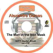 The Man in the Iron Mask  - Alexandre Dumas MP3 Audio Book CD