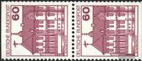 BRD (BR.Deutschland) 1028C/D senkrechtes Paar gestempelt 1980 Burgen und Schlöss