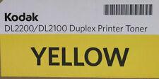 KODAK DL2200 / DL2100 YELLOW DUPLEX PRINTER TONER CARTRIDGE NEW IN BOX FREE SHIP