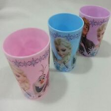 Official License Disney Frozen Elsa Anna Cristoff Olaf Plastic Cup 3Set