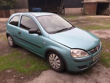 Vauxhall Corsa C 1.2 16v 2003 3 Door Manual Petrol Spares or Repair