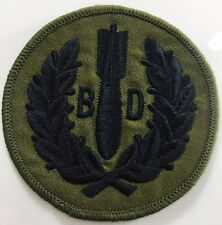 Royal Air Force - 5131 Bomb Disposal Squadron - Subdued Sew On Patch - No-525