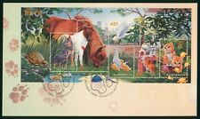 MayfairStamps Australia FDC 1996 Pets Souvenir Sheet First Day Cover wwr5615