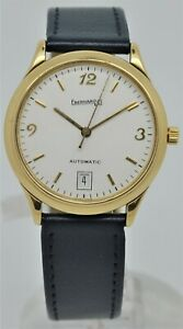 Eberhard & Co 18K solid yellow gold automatic gents dress watch
