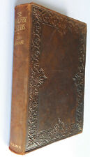 The Ingoldsby Legends R H Barham vintage 1920s book leather bound T H Robinson