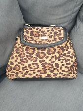 🔥🔥 RIVER ISLAND Animal Print Small Backpack Bag Top Handle Handbag