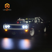 Classic LED LIGHT KIT FOR LEGO DOM'S DODGE CHARGER 42111 LEGO Technic Lighting