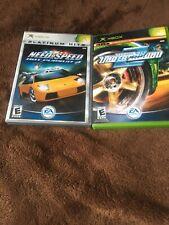 🏎️🏎️ Need for Speed: Underground 2 & Hot Pursuit 2 (Xbox, 2004)  CIB  🏎️🏎️