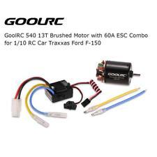 GoolRC 540 13T motore spazzolato con 60A ESC Combo per 1/10 Traxxas Ford L2Z5