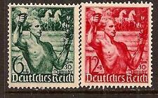 GERMANY 1938 SPORT HORSE SC # B116-117 MNH