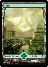 MTG Magic AKH FOIL - Forest/Forêt, #254, Full Art, French/VF