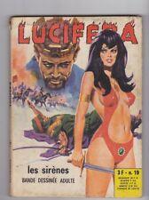 Lucifera  19  BD Adulte Elvifrance 1974  petit format