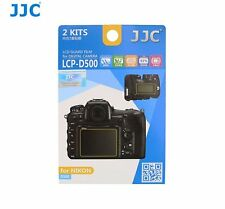 JJC LCP-D500 LCD Guard Film Camera Screen Display Protector for NIKON D500