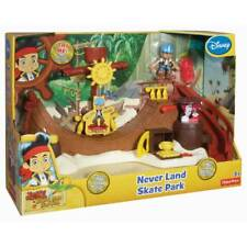 New Licensed Fisher-Price Jake and The Never Land Pirates: Skate Park Playset