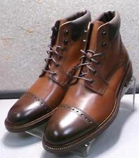 208970 SPBT50 Mens Boots Size 9 M Dark Tan Leather 1850 Series Johnston Murphy