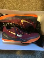 Nike Kobe IX Elite Low Deep Garnet SIZE 10.5