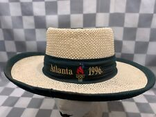 Vintage Atlanta 1996 Olympics The Game Men's Straw Hat