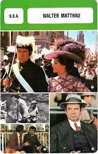 FICHE CINEMA :  WALTER MATTHAU -  USA (Biographie/Filmographie)