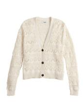 Women's Sonoma Goods For Life Ivory V-Neck Cardigan Sweater - BRAND NEW