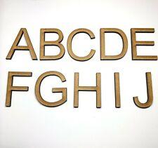 Wooden Letters Small 2cm - 10cm sizes Arial Font MDF Mini Laser Cut Alphabet