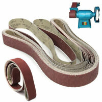 5x180cm 2''x72'' Sanding Belt 36~1000 Grit For Metal Wood Grinding Abrasive Tool