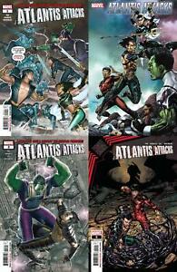 Atlantis Attacks (#1, #2, #3, #5 inc. Variants, 2020)