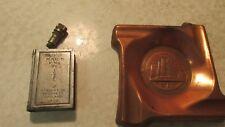 1933 Century of Progress Match King & Copper Tray