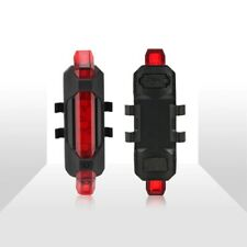 LED USB BICYCLE TAIL LIGHT Bike Light Rechargeable Cycling Safety Light Bicicle