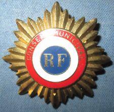 Insigne de Fonction Conseil Municipal