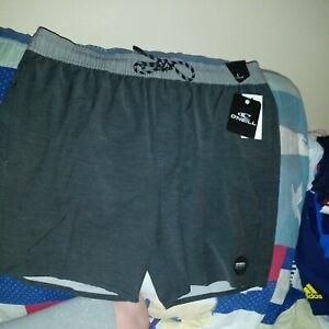 O'NEILL Men's Combo Volley Boardshort - Size Large Color Grey