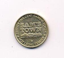 vintage token gaming gambling casino chip  ~ Kansas City Mo. ~ Sam's Town