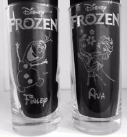 New! Personalised Disney's Frozen Hi-Ball Glass Ideal Present For Any Frozen Fan
