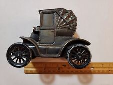 Vintage Cast Iron Auto Bank 1900 No Name