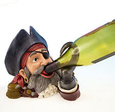 Pirate Hook Wine Bottle Holder Resin Bar Nautical Beach Decor FREE SHIPPING