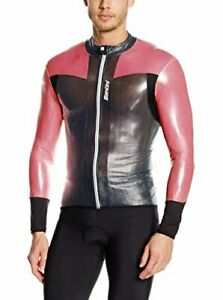 Velo CYCLING Wind JACKET - in Red / Black - Made it Italy by Santini Size XL