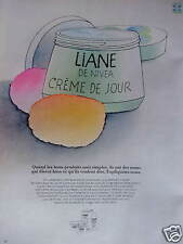 PUBLICITÉ 1973 LIANE DE NIVEA CRÈME DE JOUR - ADVERTISING