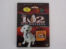 Disney 102 Dalmatians DVD 2008, Glenn Close, RARE OOP HTF Brand New W/Slipcover