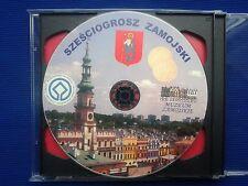 Płyta CD o Zamościu + 2 ZŁOTE + Sześciogrosz Zamojski