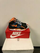 Nike Air Trainer SC High. Black/Alpha Orange-Rust Factor. CU6672 001. BNIB.