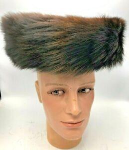 Orthodox OLD Jewish fur hat Hasidic Shtreimel Authentic Real Fur w box Sabbath