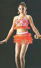 Carnivale Dance Costume Beaded Fringe Shorts and Top Clearance Adult Large