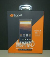 ZTE - MAX XL - Boost Mobile - 16GB - Gray - andMore - NEW FREE SHIPPING